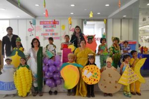 """81ffb5ab5 ... Nursery, Junior KG and Senior KG) participated in the """"Fancy Dress""""  competition which was held from 8th February to 10th February, 2017.The  themes were:"""